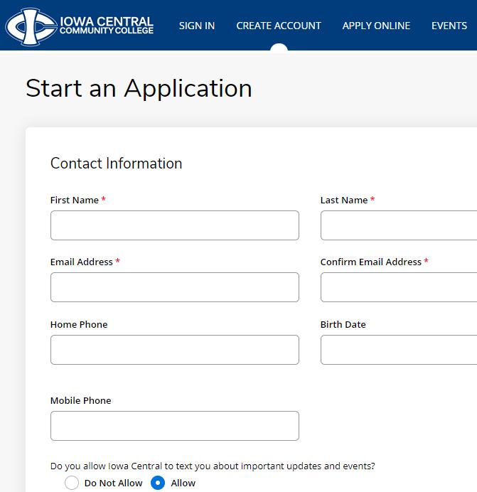 爱荷华州中央社区学院学生邮箱申请