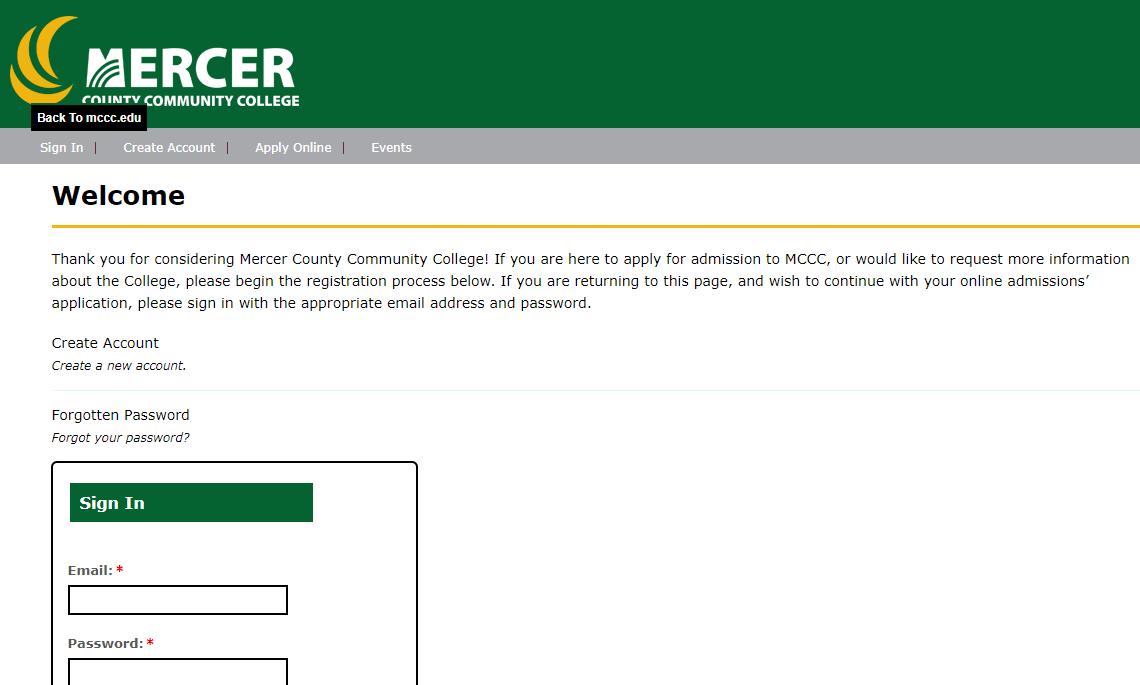 默瑟县社区学院学生邮箱申请