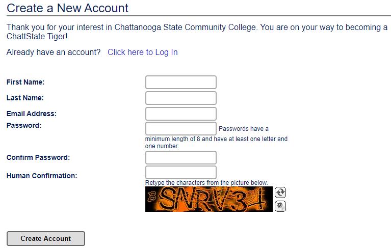 查塔努加州立社区学院邮箱申请