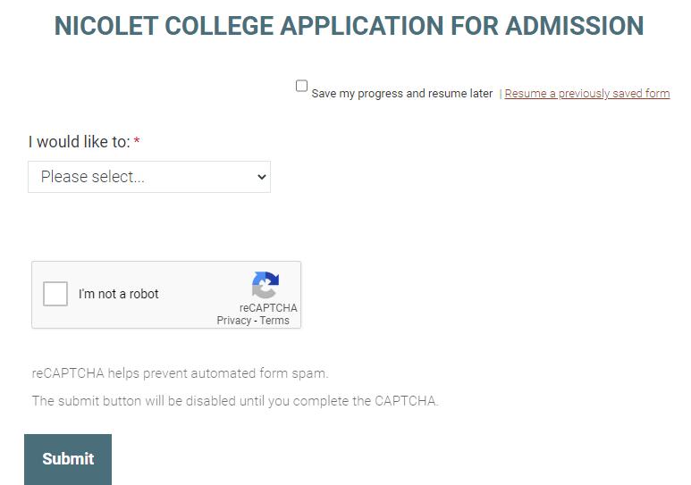 尼科莱特地区技术学院邮箱申请